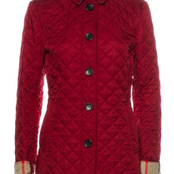 BURBERRY BRIT Quilted Utility Jacket